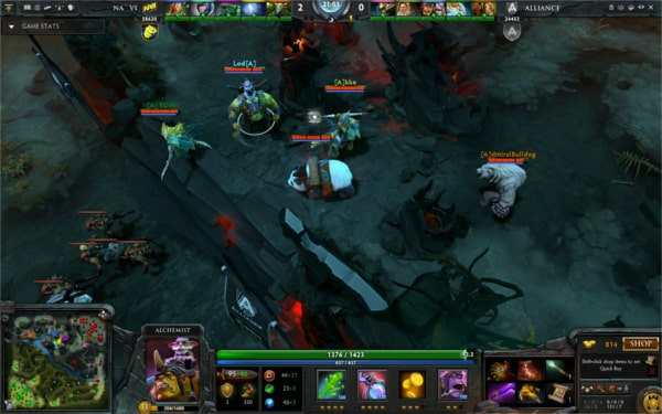 DOTA 2 Betting Gameplay