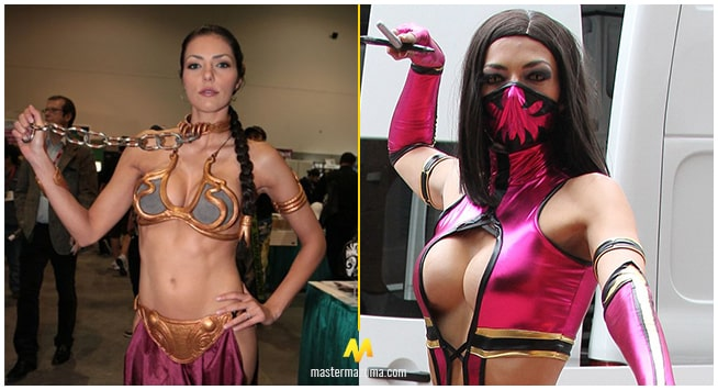 Adrianne Curry Videogame Cosplay