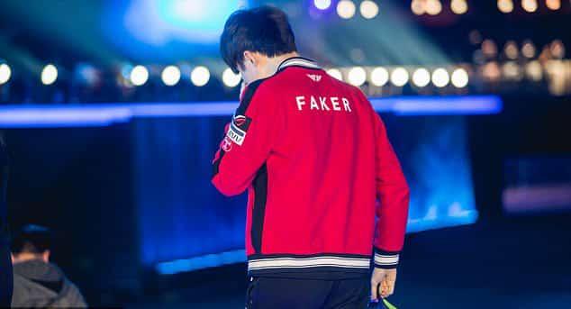 eSports World Champions 2017 Faker