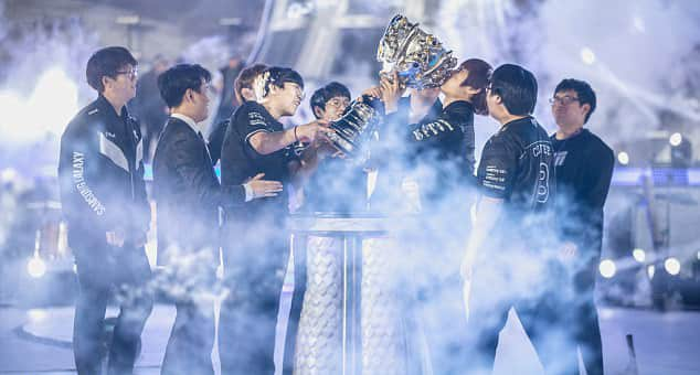 eSports World Champions 2017 Samsung Galaxy