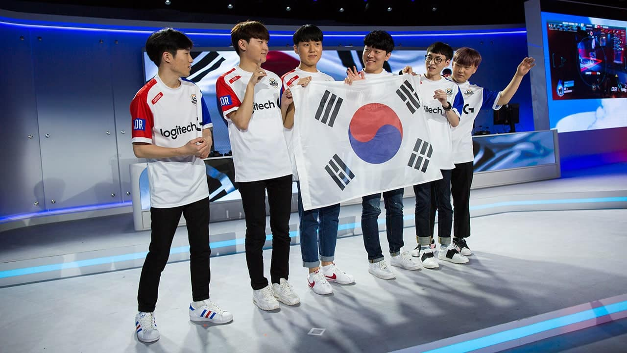 eSports World Champions 2017 Overwatch South-Korea