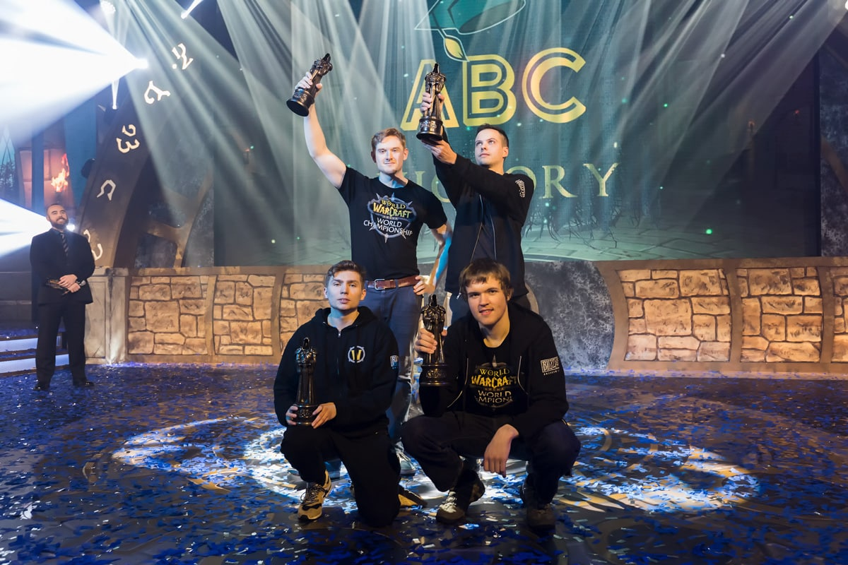 eSports World Champions 2017 ABC