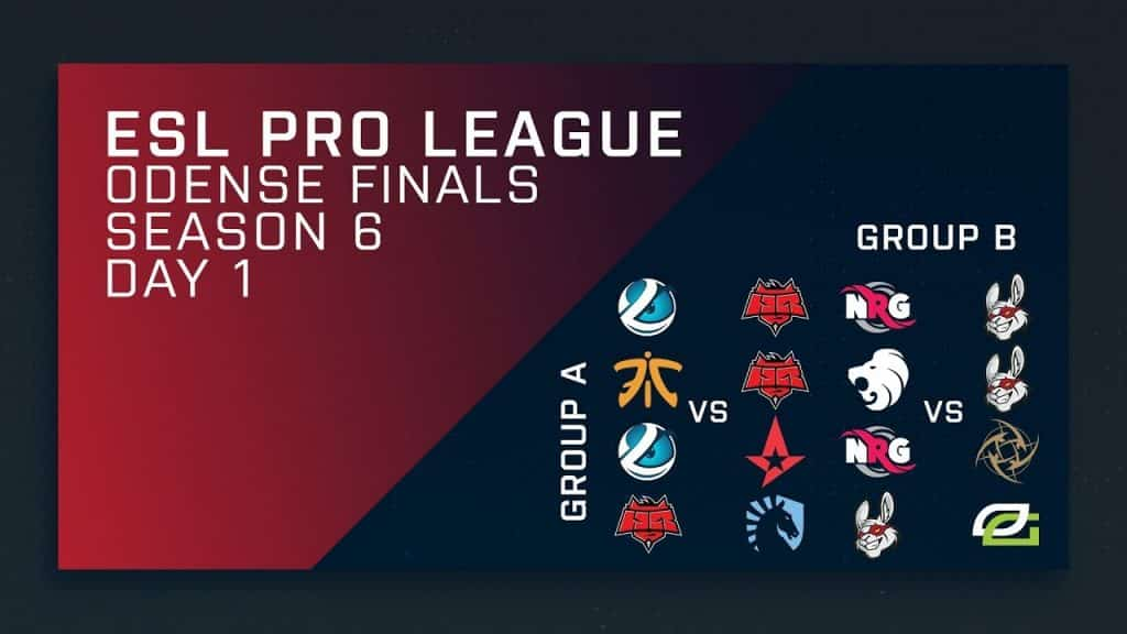 ESL Pro League Finals Schedule