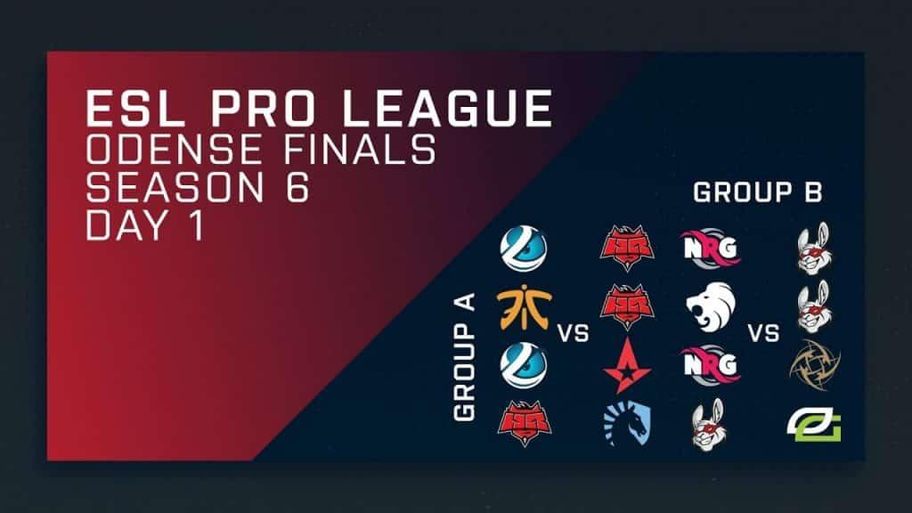 ESL Pro League Finals Schedule
