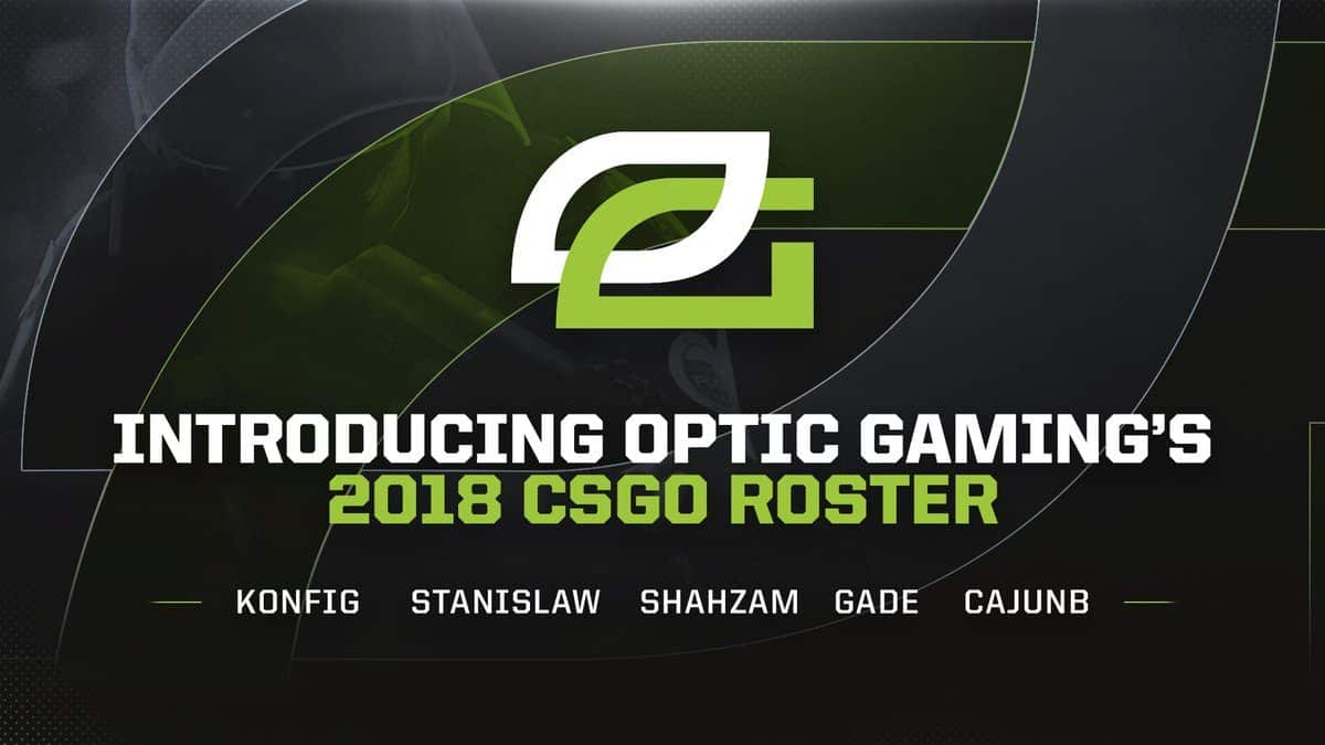 OpTic Gaming international CS:GO roster