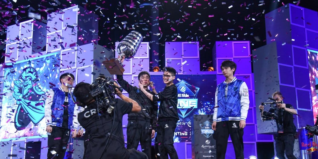 Newbee wins big at ESL One Genting